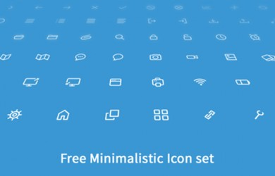 4.thin line icons
