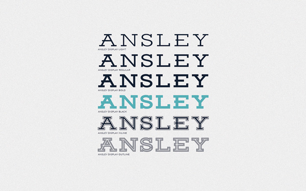 6.Fresh Free Font Of The Day  Ansley Display