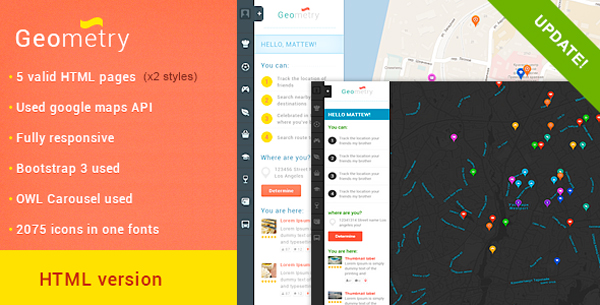 HTML-Geolocation-Template