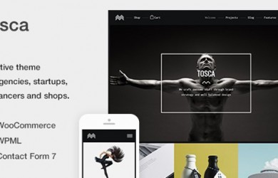 Portfolio-&-Ecommerce-WordPress-Theme