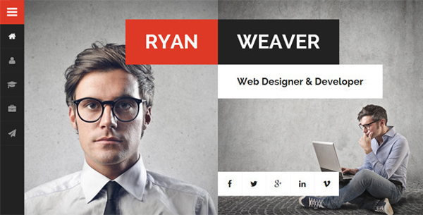 Vcard-Resume-WordPress-Theme
