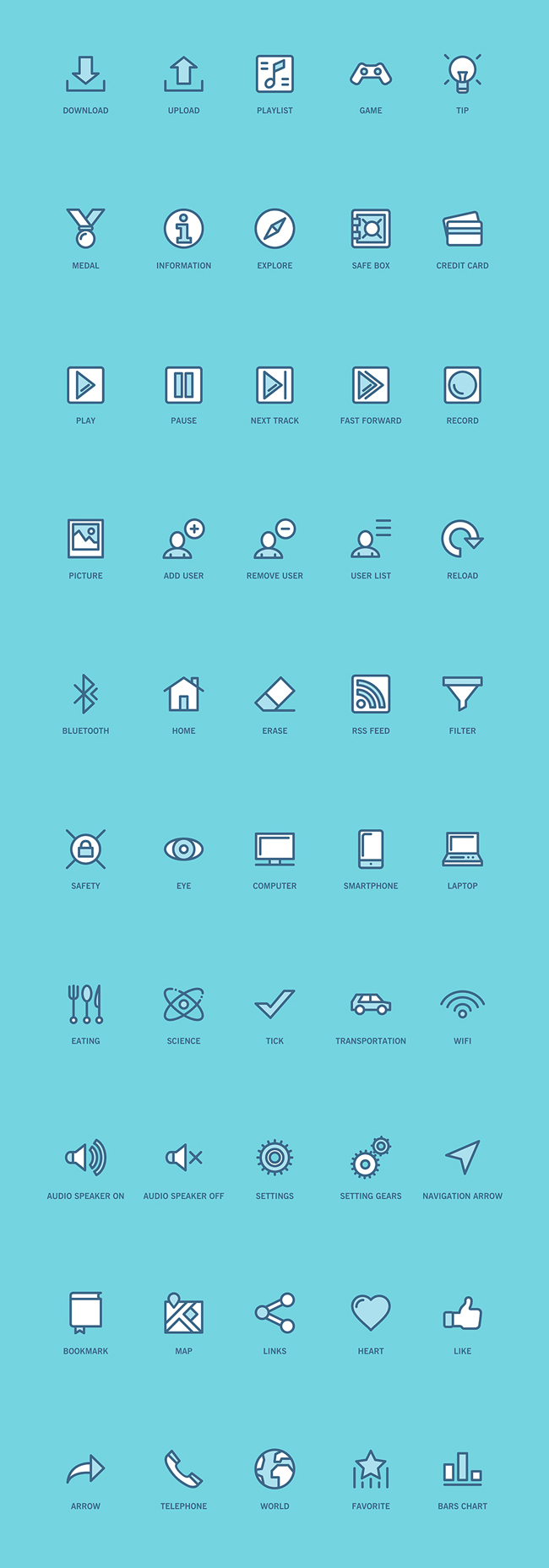 Web and App UI Icons