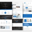 one-page-psd-template