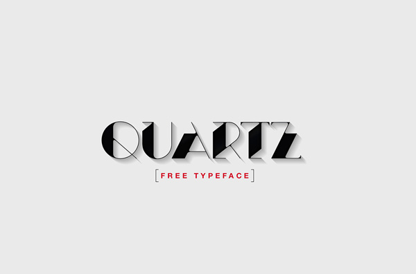 1.Fresh Free Font Of The Day  Quartz