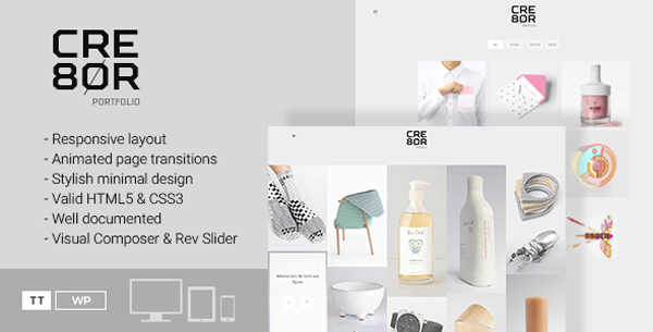 Minimal-Portfolio-WordPress-Theme