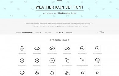 weather icons css