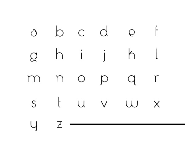 3.Free Font Of The Day  Tessellate