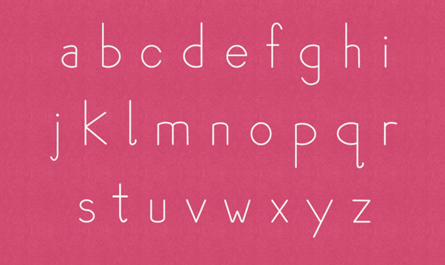 4.Free Font Of The Day  Plum