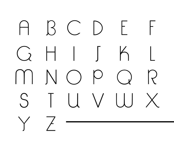 4.Free Font Of The Day  Tessellate