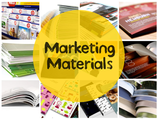 Why Printed Marketing Materials Are Still A Big Asset In