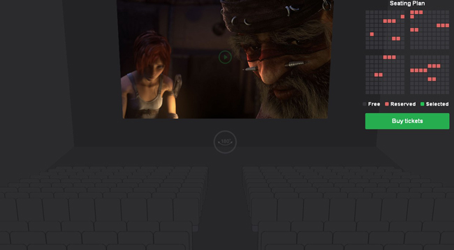 Cinema-Seat-Preview-Experiment-With-CSS