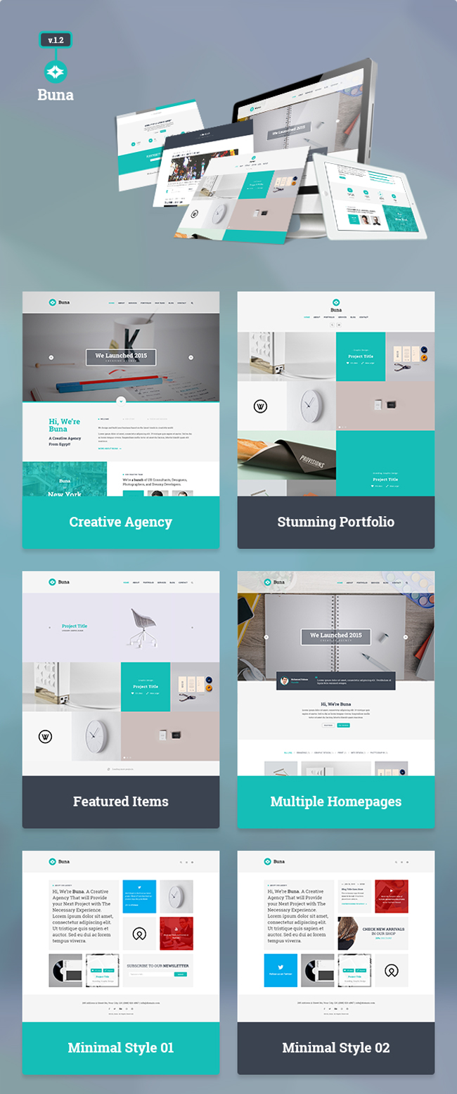 Free download agency portfolio template psd designbeep for Cosmetology portfolio template