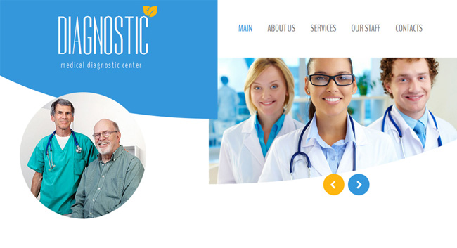 medical-responsive-website-template