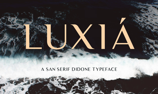 1.Free Font Of The Day  Luxia