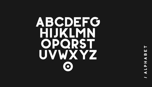 2.Free Font Of The Day  BONKERS