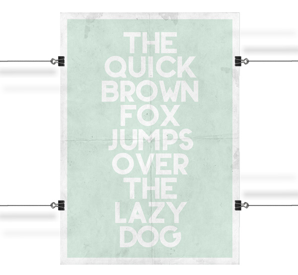 4.Free Font Of The Day  BONKERS