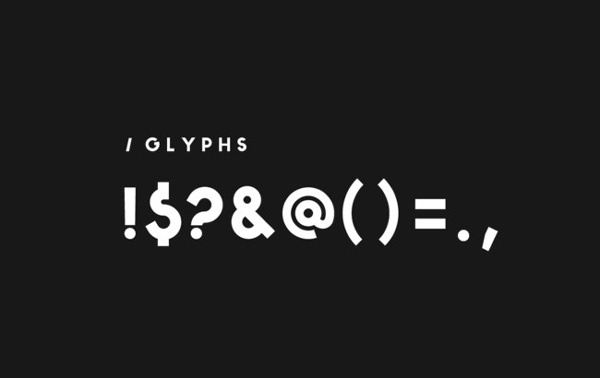 5.Free Font Of The Day  BONKERS
