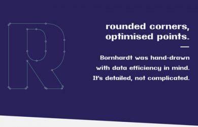 1.Free Font Of The Day  Bornhardt