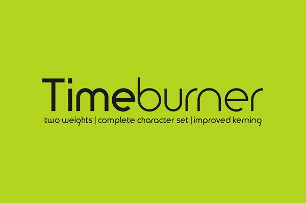 1.Free Font Of The Day  Timeburner