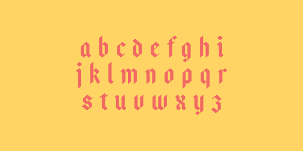 3.Free Font Of The Day  Bajern