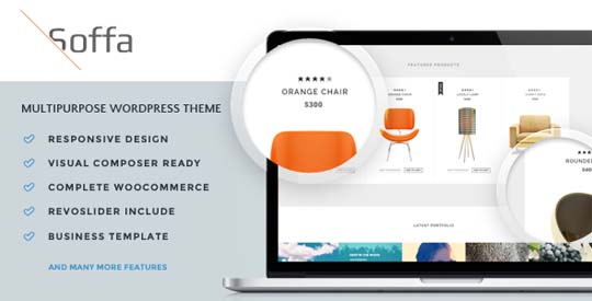 4.furniture wordpress theme