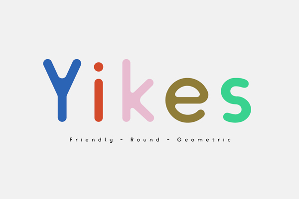 1.Free Font Of The Day  Yikes