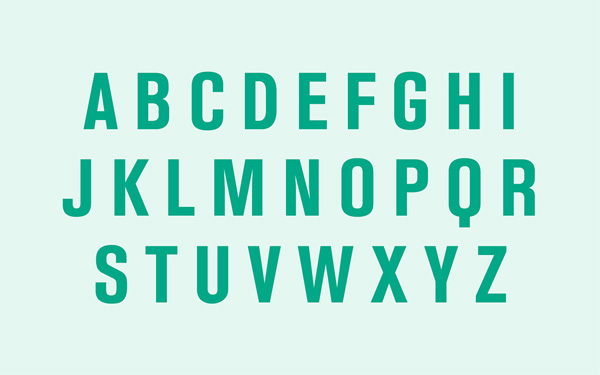 2.Free Font Of The Day  El Enra