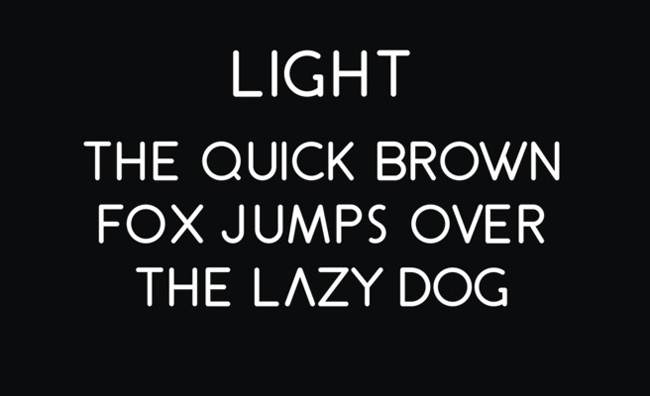 3.Free Font Of The Day  GOLDIN