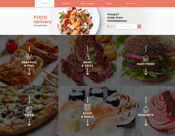 Catering-responsive-template