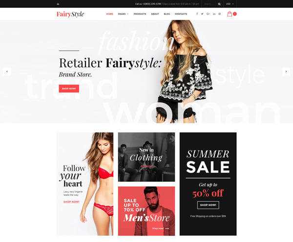 Fashion-Bootstrap-Template