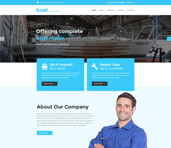 Yachting-Responsive-Template