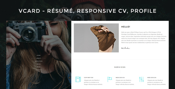 cv-wordpress-theme