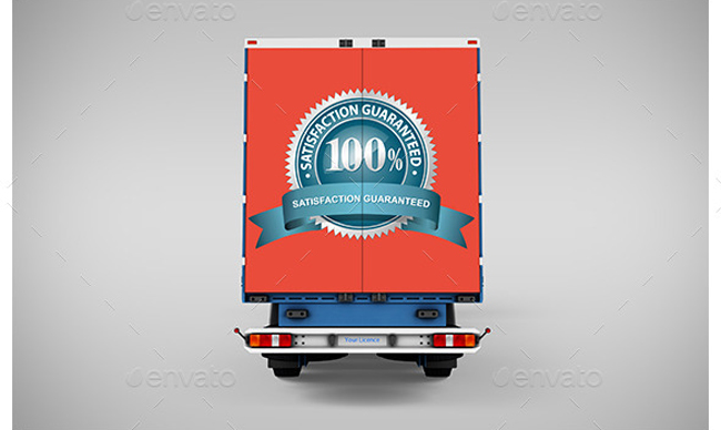 2.Billboard and Truck Mockup