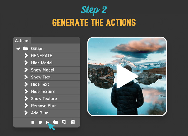 2.Convert Static Images to 2.5D Parallax Videos for Instagram