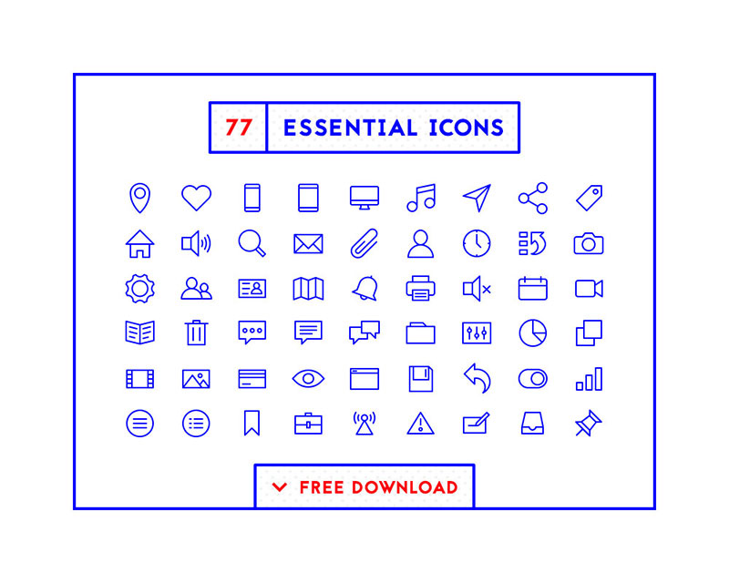 77-essential-icons