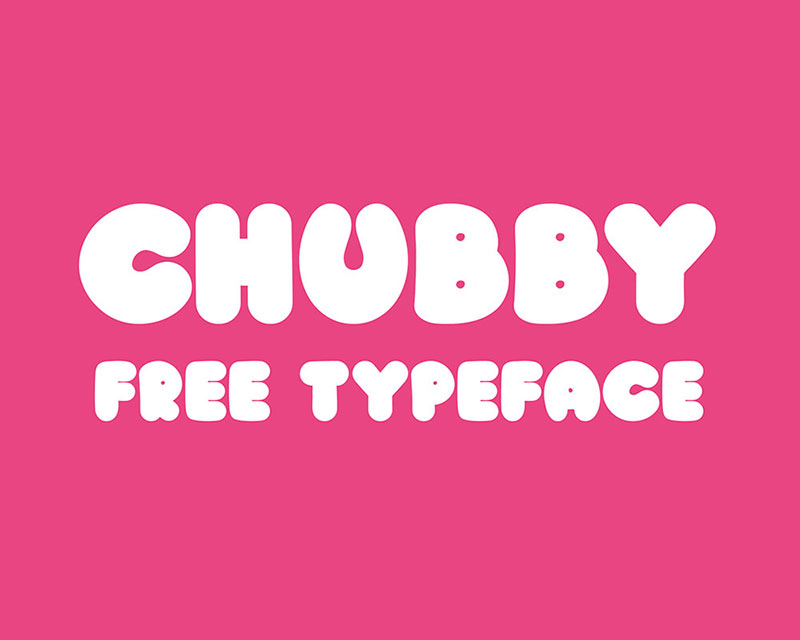 chubby-free-typeface