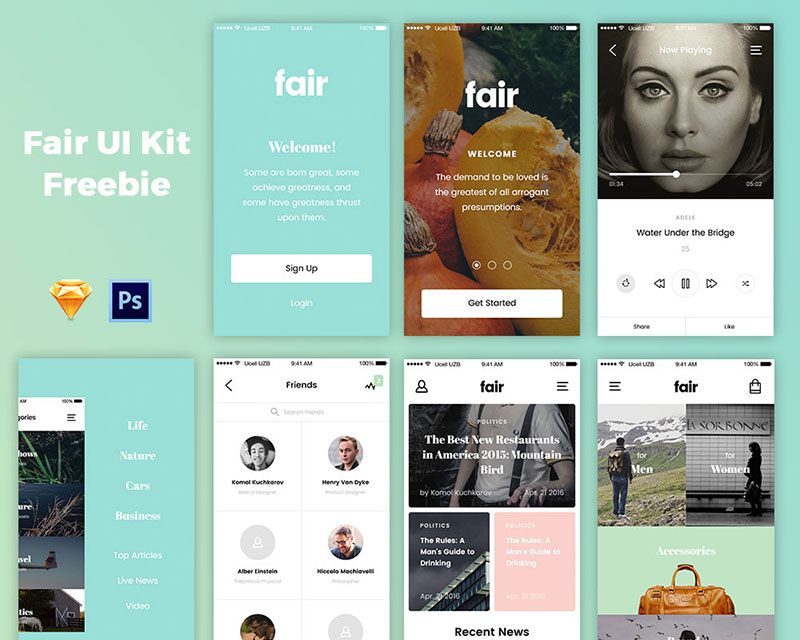 free-fair-ui-kit
