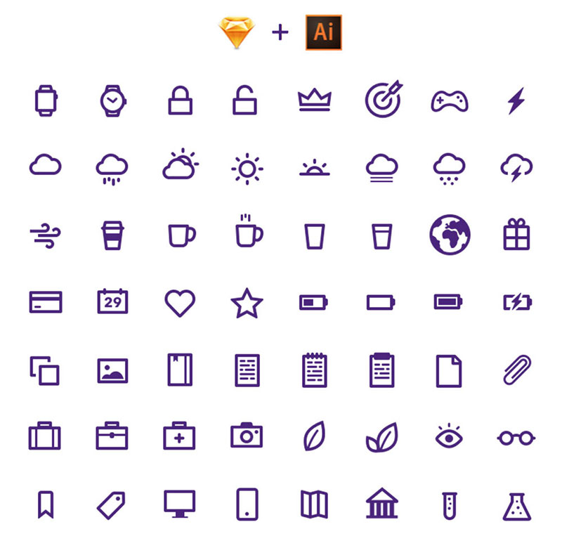 ultimate-free-smart-watch-icon-pack