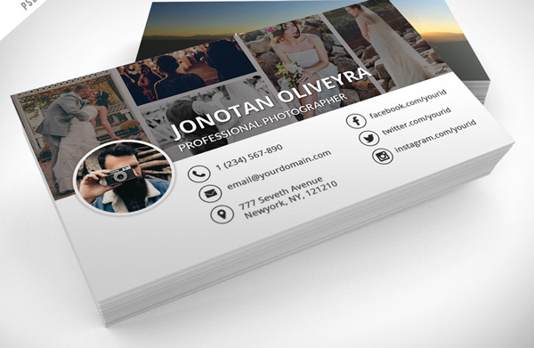 2.free business card template