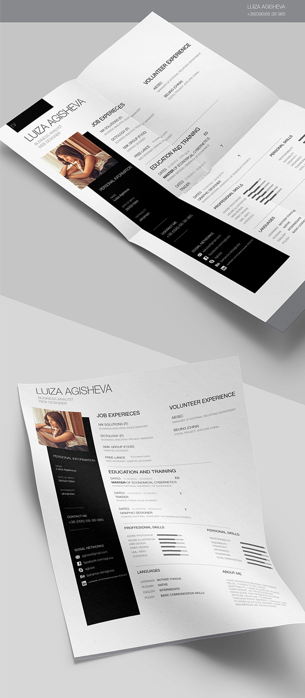 3.resume template
