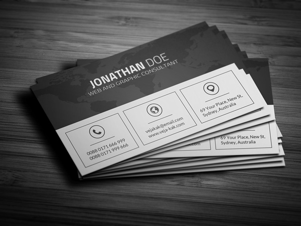 4.free business card template