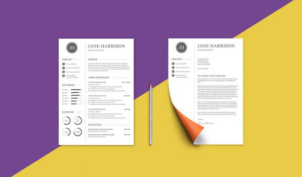 4.resume template
