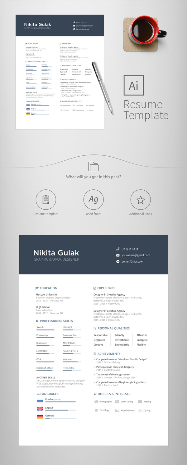 5.resume template