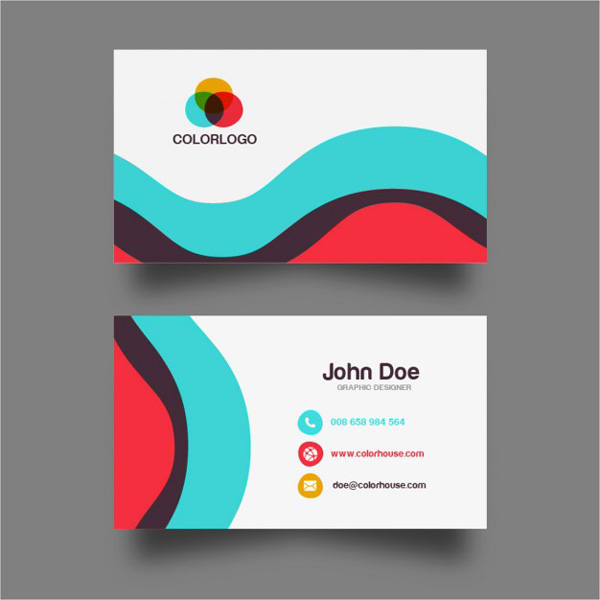 6.free business card template