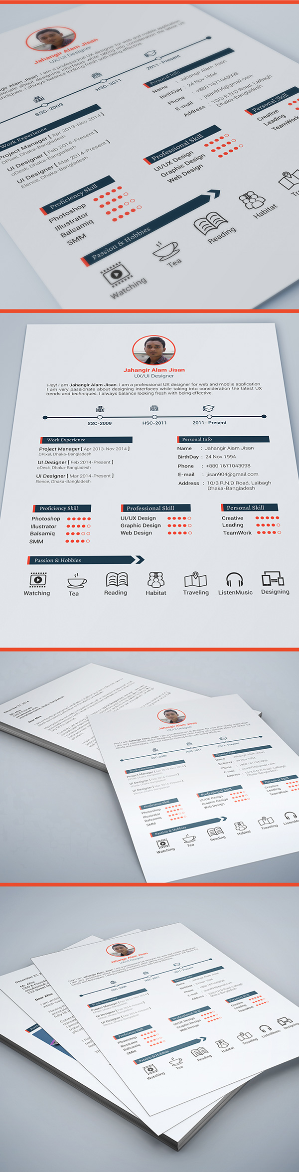 7.resume template