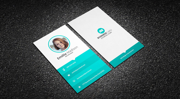9.free business card template