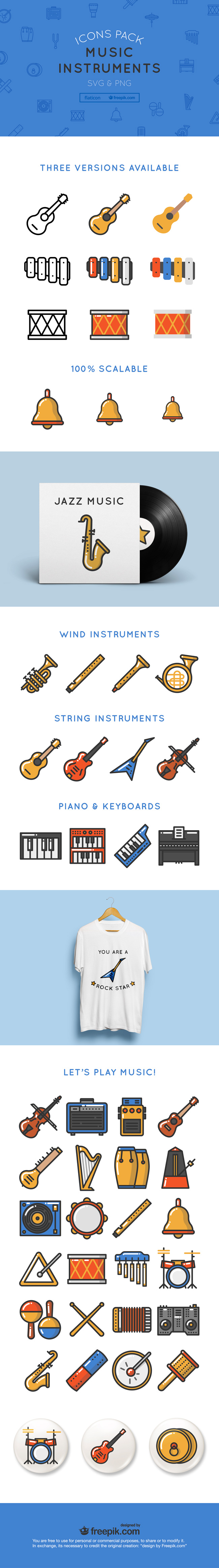 music-instrument-icons