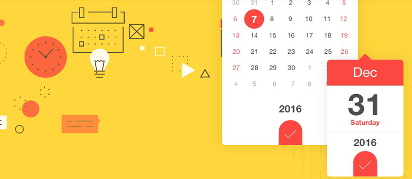 Datedropper smallest jquery ui datepicker designbeep for Table design jquery ui