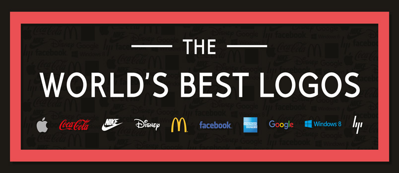 The world s best logos infographic designbeep The best design in the world