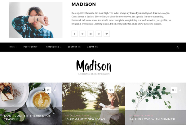 wordpress-personal-theme